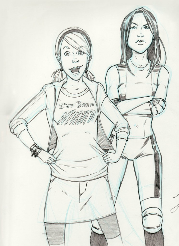Sun Wong and Liz Winters.