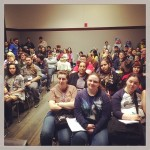 Making Webcomics-Standing room only!-the other side
