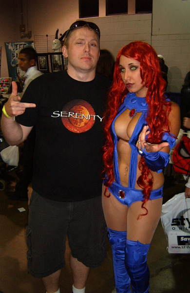 Me and Starfire. Not sure how I got this one past the Mrs. lol